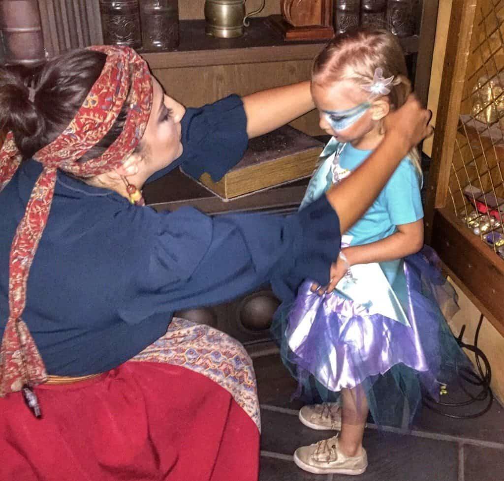 A Magical Mermaid Makeover At Disney World