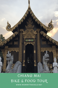 Take a bike and food tour in Chiang Mai, Thailand