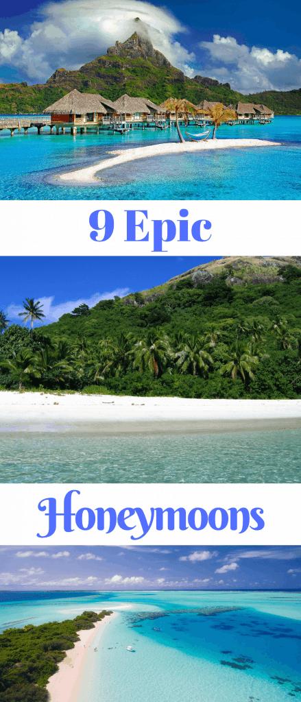 9 Amazing Honeymoon destinations all across the world