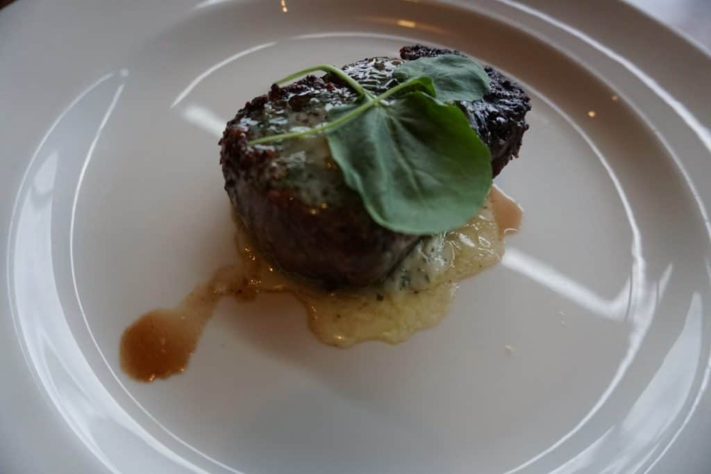 Filet Mignon at Michael Jordan's Steakhouse