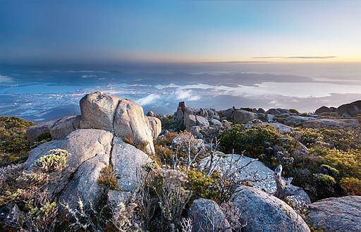 Hobart's Mt. Wellington