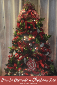 How to decorate a Christmas Tree step by step