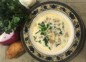 A simple copycat recipe for Olive Garden's Zuppa Toscana soup