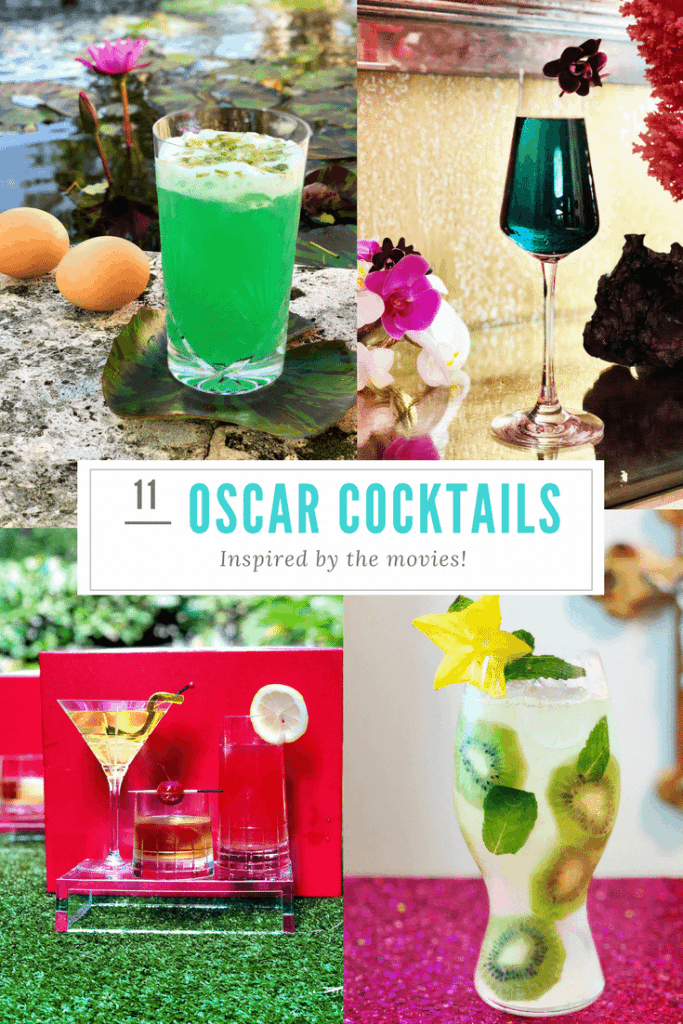 11 Oscar cocktails inspired by the movies