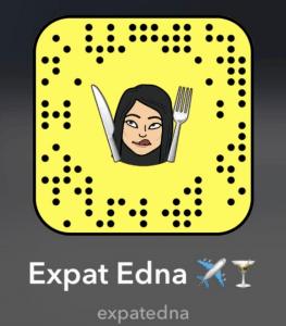 Expat Edna on Snapchat