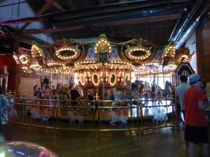 carousel at Miners Landing