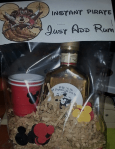 Alcoholic fish extender gift