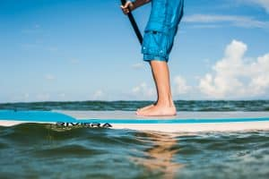 Paddleboarding in Gulf County