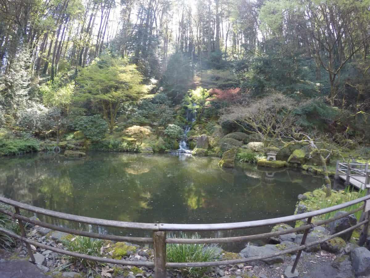 Japanese Garden in Portland