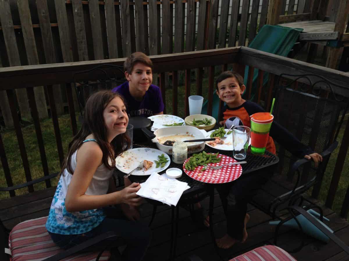 dine outside