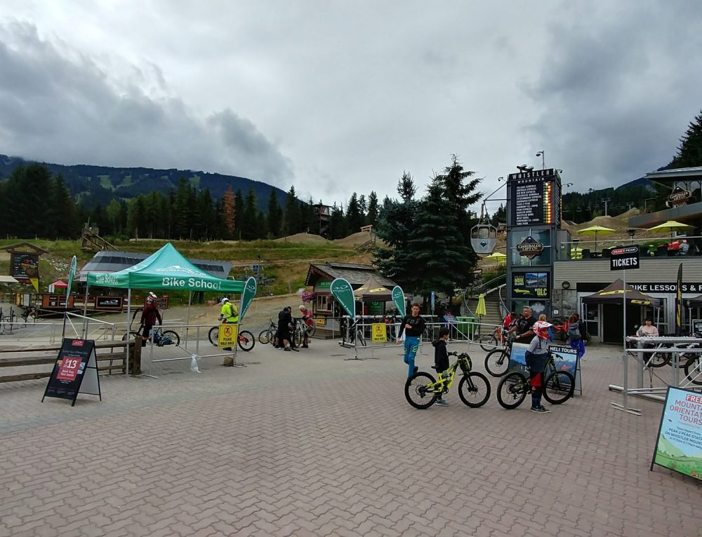 Mountain Biking and Bungee Jumping in Whistler, Canada