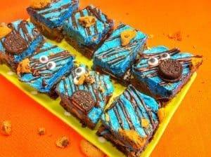 Cookie Monster Brownies