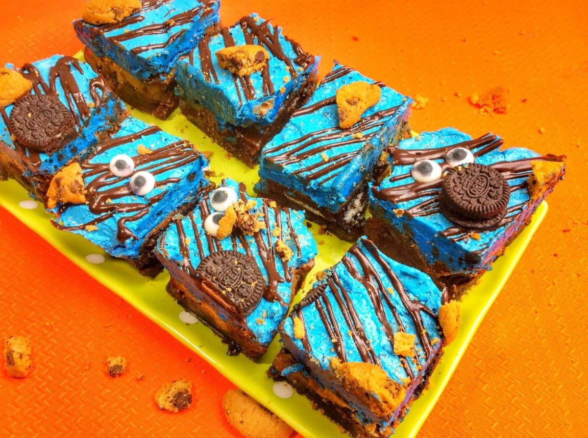Cookie Monster Brownie Recipe