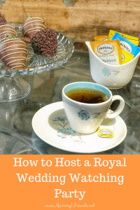 How to host a royal wedding watching party