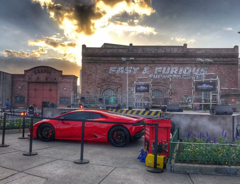 Fast and Furious Ride at Universal Orlando