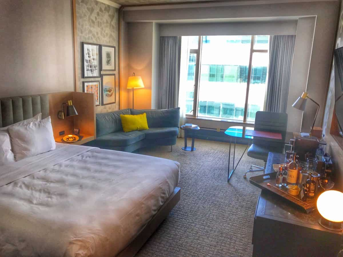 The Duniway guest room