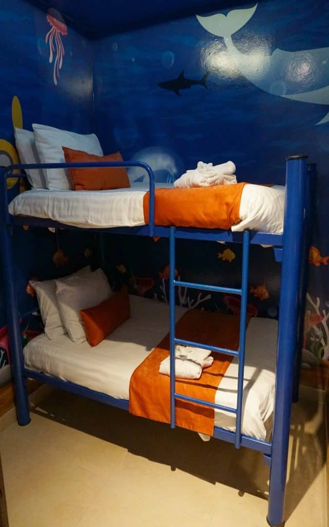 sunscape Puerto Vallarta bunkbed room