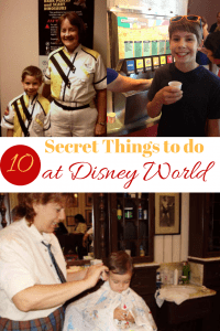 10 Secret things to do at Disney World