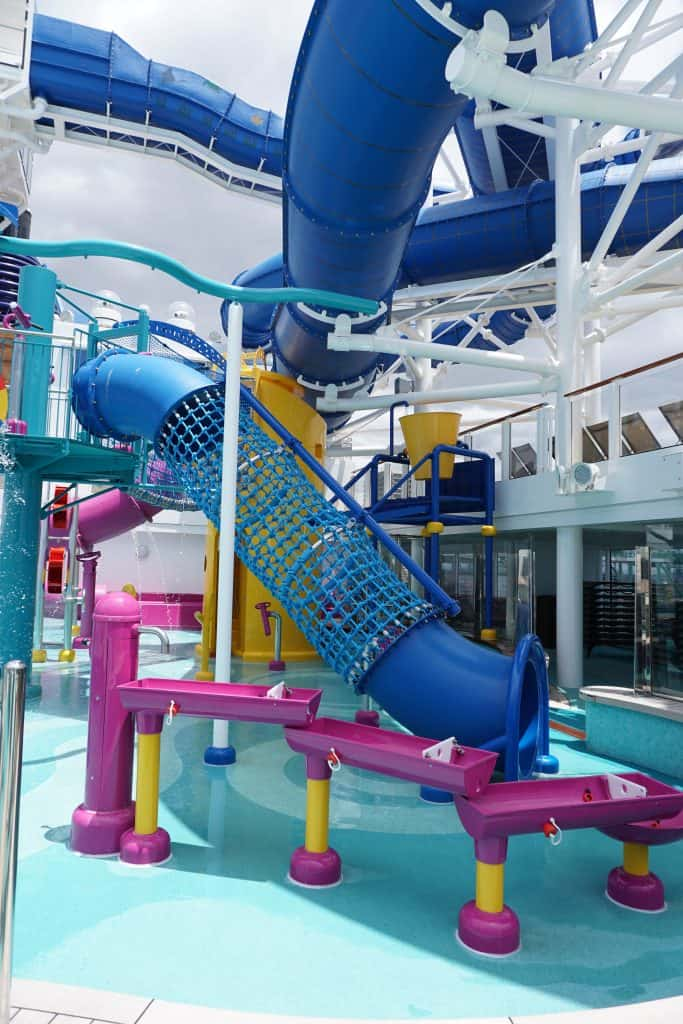 Norwegian Bliss Kids Splash Area