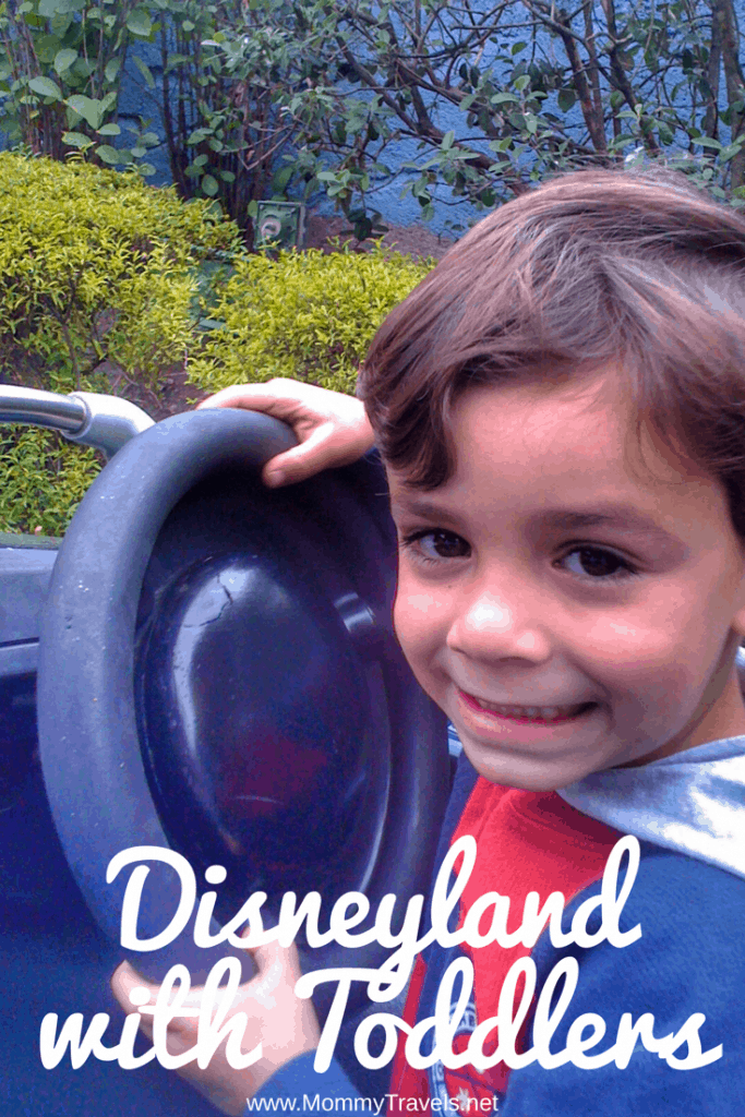 Disneyland with toddlers tips