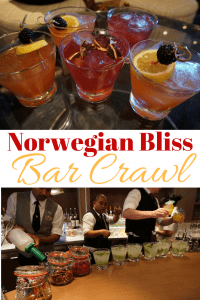 How to go on a bar crawl on the Norwegian Bliss