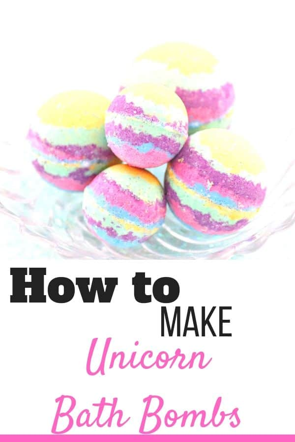 How to make unicorn bath bombs