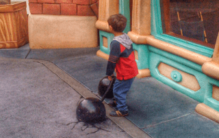 How to survive Disneyland with toddlers