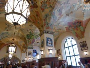 Inside Munich Hofbräuhaus