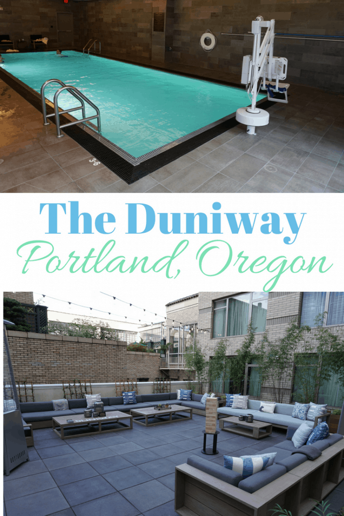 The Duniway Hotel in Portland, Oregon