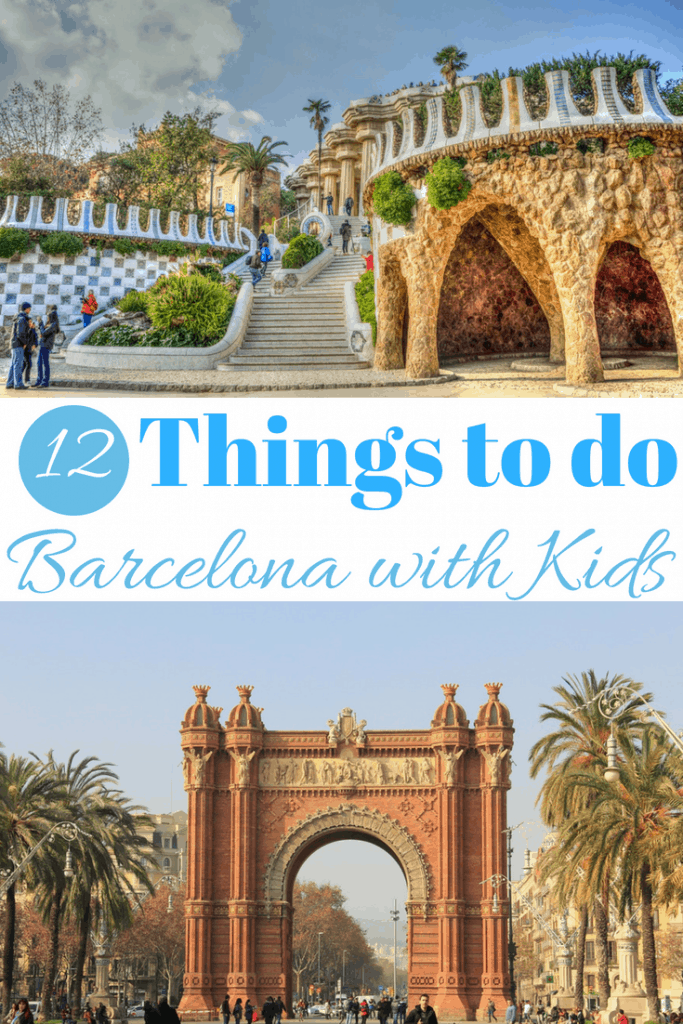 12 Amazing Things to do in Barcelona with kids