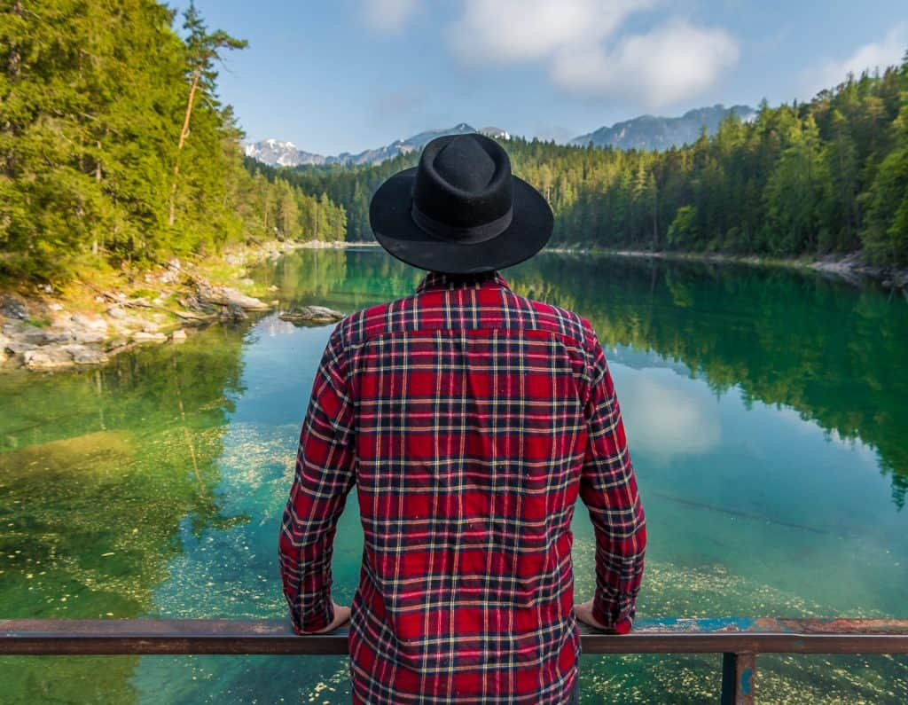 Eibsee in Germany