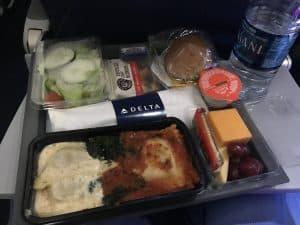 Delta overseas meal