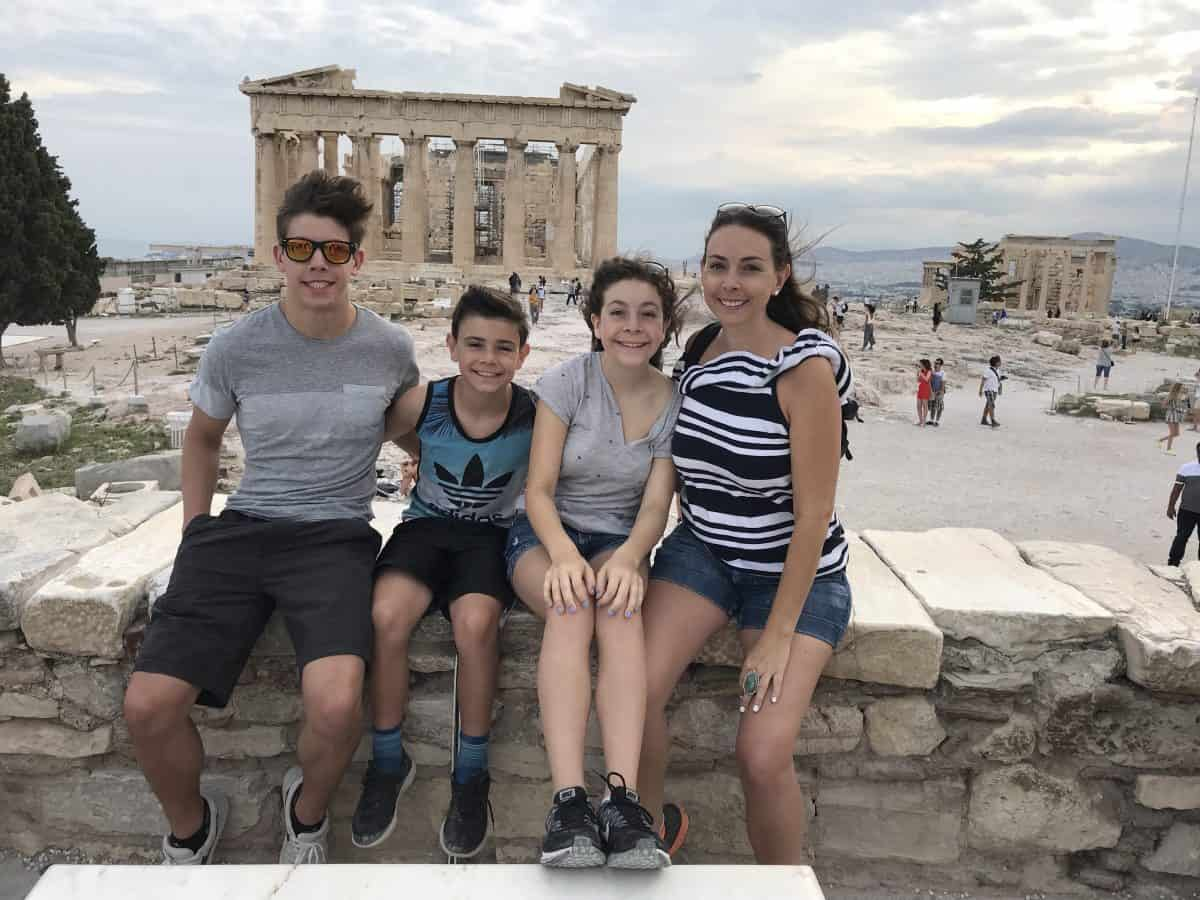 Greece with kids
