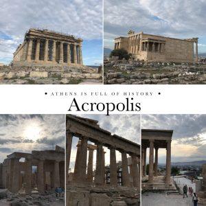 Acropolis in Greece