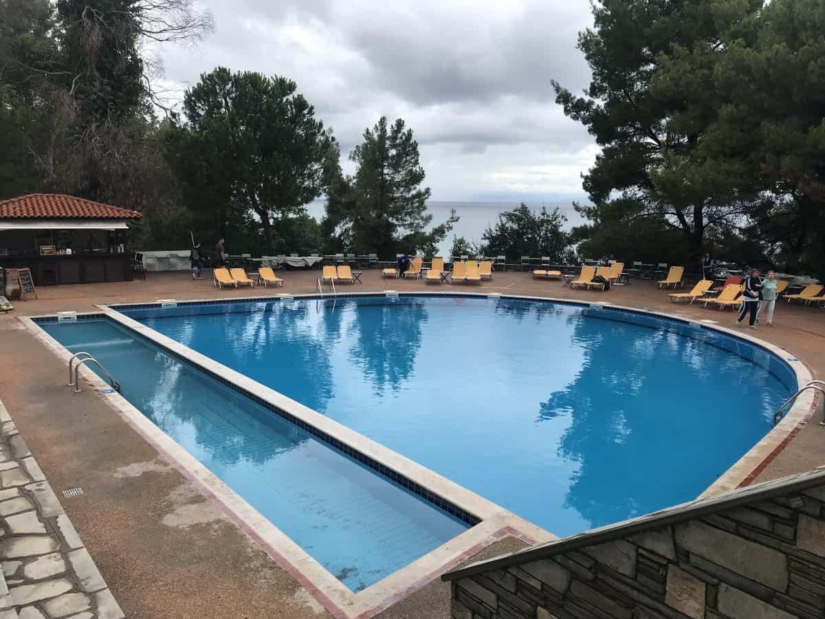 Pool at Alexander the Great Beach Hotel in Halkidiki