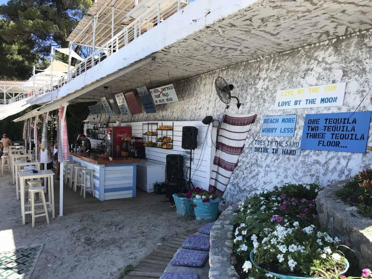 Agora Beach Bar in Kassandra, Halkidiki