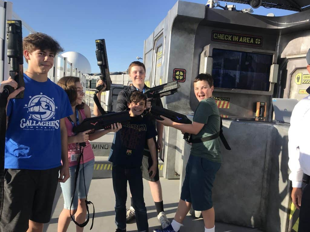 Laser tag on the Norwegian Bliss