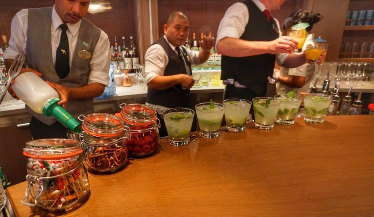 Sugarcane Mojito Bar on the Norwegian Bliss