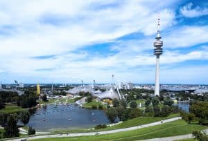 Olympia Tower in Munich