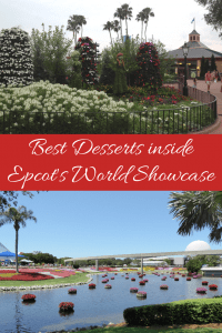 5 Best desserts at Epcot inside the World Showcase