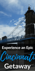 Cincinnati travel guide with suggested hotels, restaurants, bars, and activities.