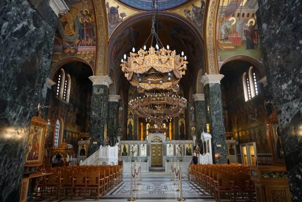 Churches in Thessaloniki are exquisite and free to go in and tour.