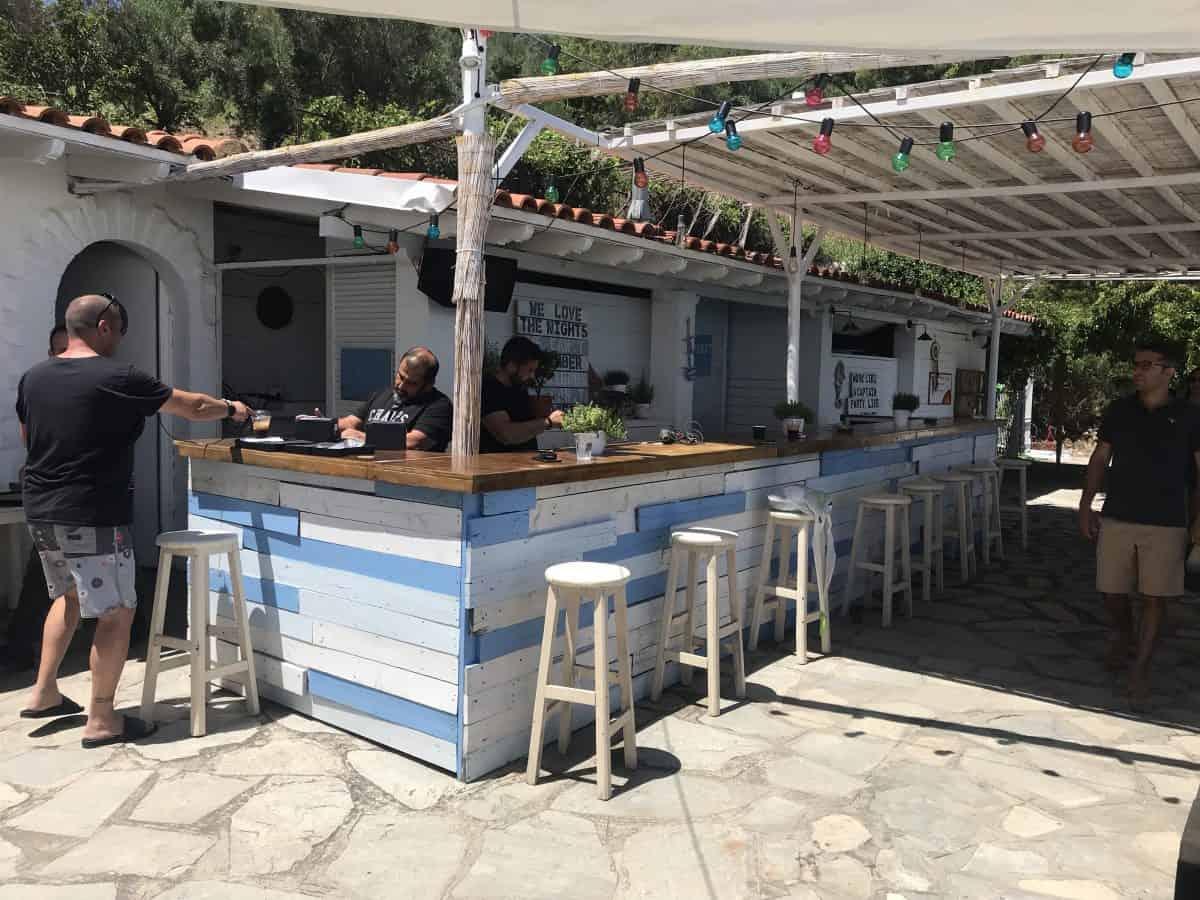 Agora Beach Bar Halkidiki Greece
