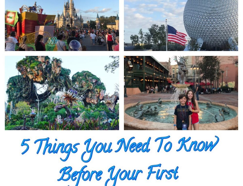 5 Things You Need To Know Before Your First Disney World Vacation