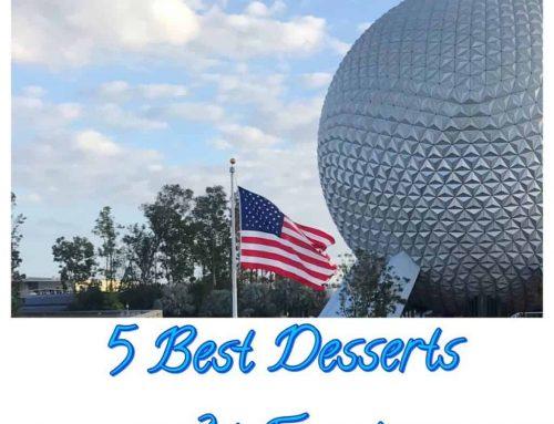 5 Best Desserts to Try in Epcot's World Showcase Disney World