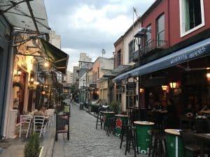 Ladadiki district in Thessaloniki