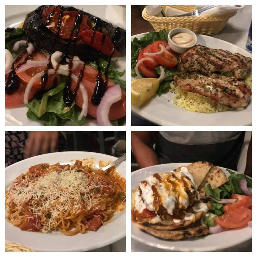 Lotza restaurant in Oia, Greece