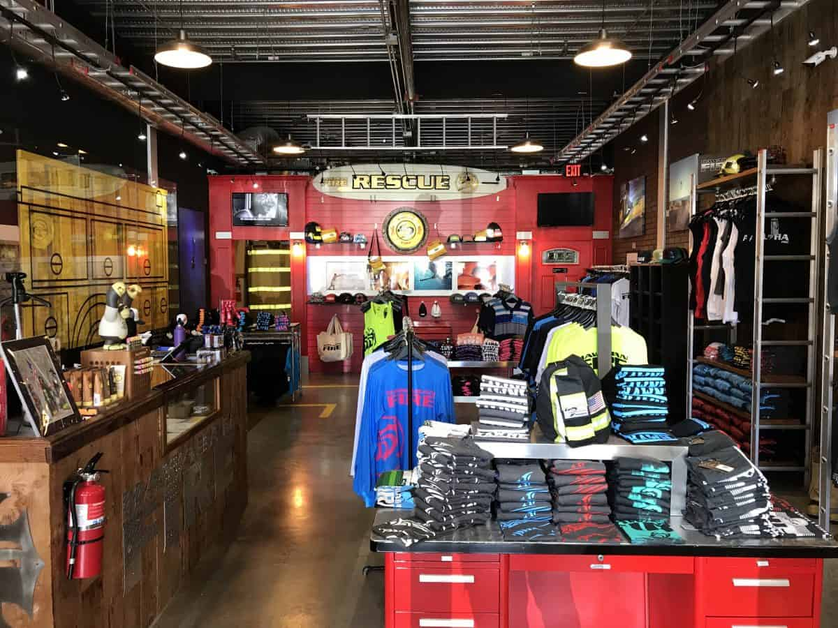 Hawaiian Fire clothing store