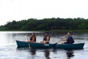 Kayaking at Pac Chen