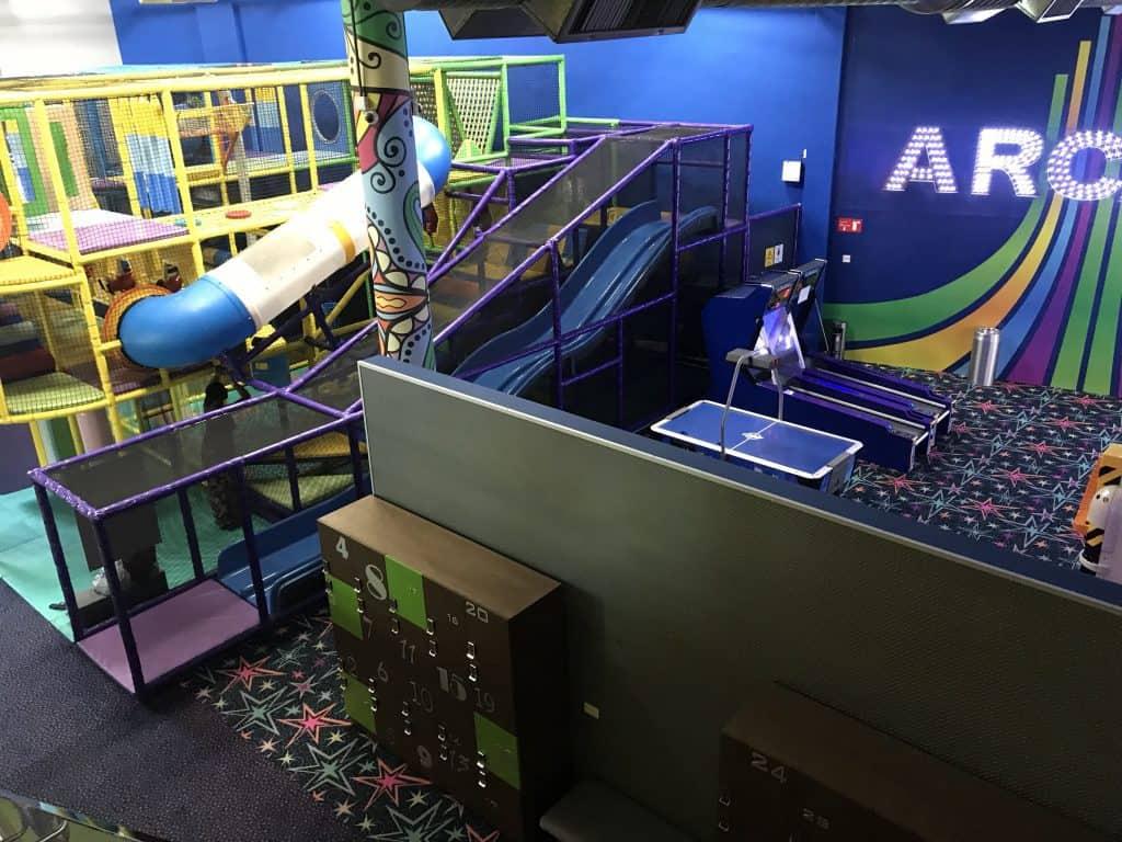 Kid's Play area at The Grand at Moon Palace